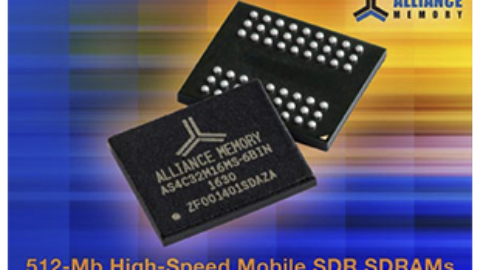 New 512-Mb High-Speed Mobile SDR SDRAMs from Alliance Memory