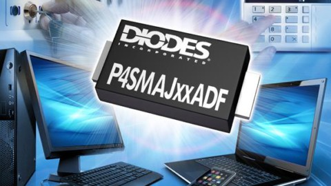 DIODES INC – D-FLAT 400W TVS Series Offers Ultra-Thin Profile with High- Power Dissipation