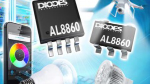 Diodes – AL8860 – Constant Current DC-DC LED Driver with Low Standby Power Mode from Diodes Incorporated provides up to 40W Output