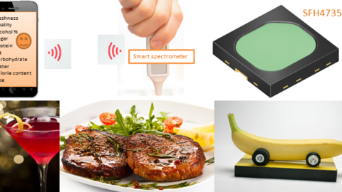 The world's first broadband infrared LED from Osram Opto Semiconductors paves the way for everyday food analytics