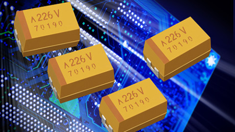 AVX Releases A New Series of COTS Plus Polymer Solid Electrolytic Multianode Chip Capacitors