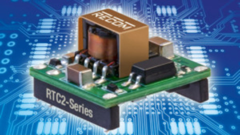 Recom – 2-watt DC/DC converters in less than 1/3 square inches