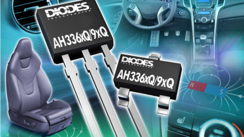 DIODES – AECQ100- Qualified Hall Effect IC Family Offers Wide Choice of Switching Sensitives