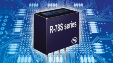 Recom – R-78S Series – Single cell battery boost switching regulator
