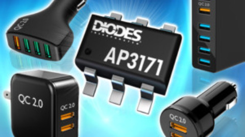 Diodes – AP3171 – Quick Charge Buck Converter Compatible to Qualcomm QC2.0