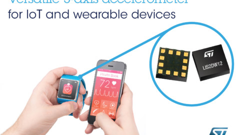 STMicroelectronics – LIS2DW12 ultra-low-power Accelerometer