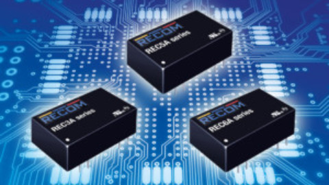 Recom – Reliable 3 to 6W DC/DC converters with integrated EMC filter