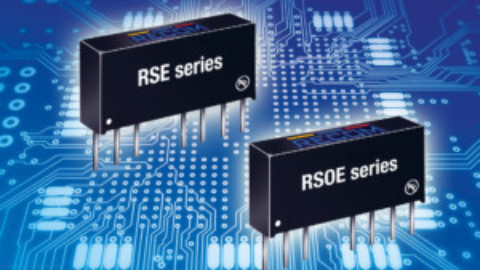 RECOM – RSE & RSOE – new low-cost regulated SIP8 DC/DC converters
