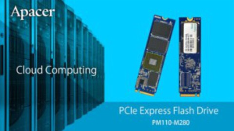 Apacer's new NVMe PCIe SSD
