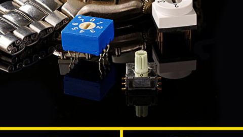 Knitter-Switch – Rotary coded switches now also with 4, 6 or 8 positions