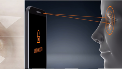 Reliable protection for smartphones and tablets thanks to infrared iris scanning and facial recognition