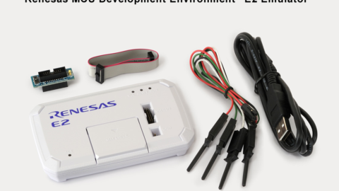 Renesas new on-chip Emulator E2 reduces Embedded Software Development Time