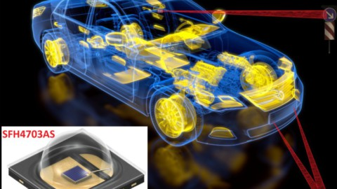 OSRAM – Smooth traffic flow through automatic barriers: infrared LED optimizes license plate recognition