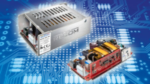 """Recom – RAC150-G – Compact 125W/150W switched-mode power supply in a 2""""x4"""" package"""