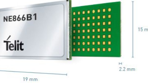 Telit Introduces First LTE Cat NB1 Modules within the xE866 Form Factor