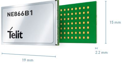 Telit Introduces First LTE Cat NB1 Modules within the xE866 Form