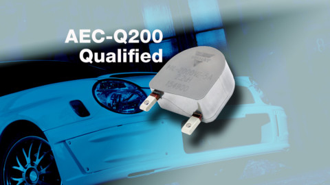 New IHXL-2000VZ-5A AEC-Q200 Qualified Inductor Is Industry's First With 125 A Continuous Current Rating