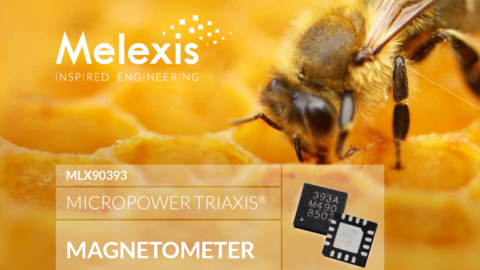 Melexis – MLX90393 MICROPOWER TRIAXIS® MAGNETOMETER