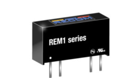 Recom – REM1 Series – New 1W medical grade unregulated DC/DC converter