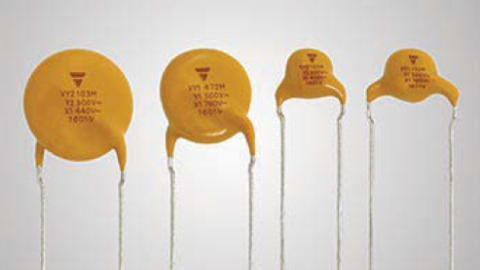 VY1 and VY2 Series Ceramic Disc Capacitors Now Available in a Mini-Size Version to Save Board Space and Costs