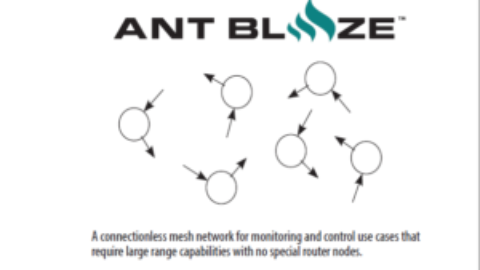 Dynastream ANT BLAZE – powered by D52 ANT SoC Premium Module Series