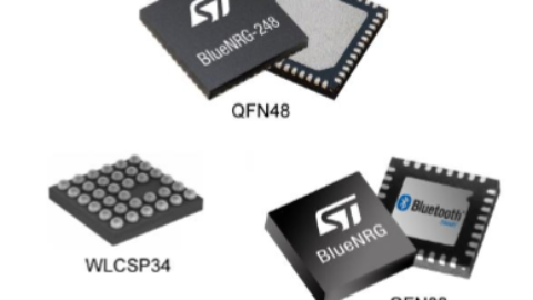 STMicroelectronics – Bluetooth® low energy wireless system-on-chip