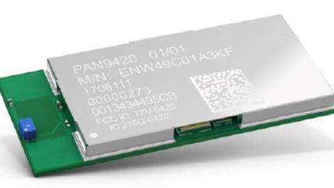 PAN9420 – Fully embedded stand-alone Wi-Fi module