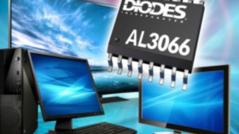 Diodes – AL3066 – Four-channel LED Driver with Boost Controller for Medium-sized LCD Panels