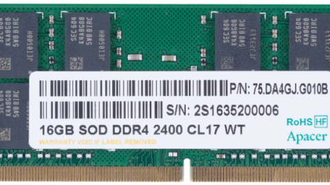 Apacer's DDR4 Industrial Grade Memory