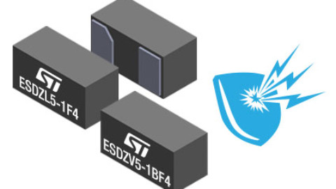 STMicroelectronics – Dot-sized ESD-clamping diodes guards smart objects from failures