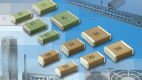 Vishay Surface-Mount Multilayer Ceramic Chip Capacitors for Safety-Certified Applications