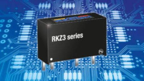 Recom – RKZ3 high power density 3W DC/DC converter in SIP7 case
