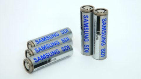 Samsung SDI Lithium Ion Batteries