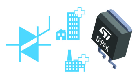 STMicroelectronics – Ease your transition to surface-mount Triacs with ST's extended D²PAK portfolio