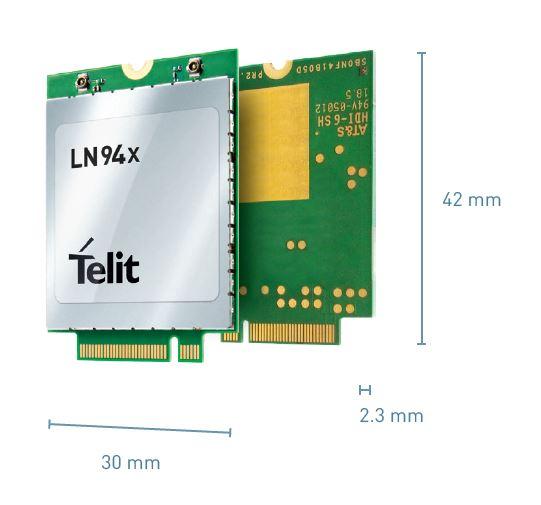 Telit LN940 – LTE Cat 9 & 11 M 2 Data Cards |