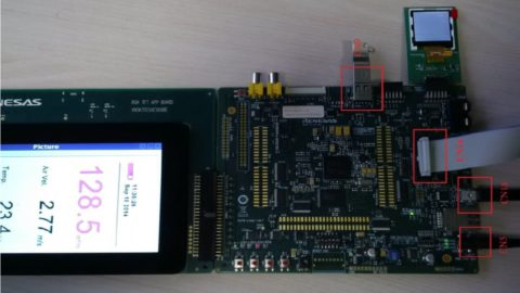 USB and LCD using Linux and Qt