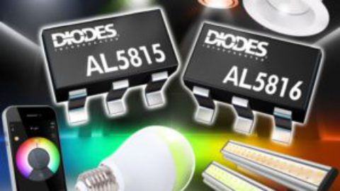 Diodes – AL5815/16 – 60V LED Dimmable Linear Controller
