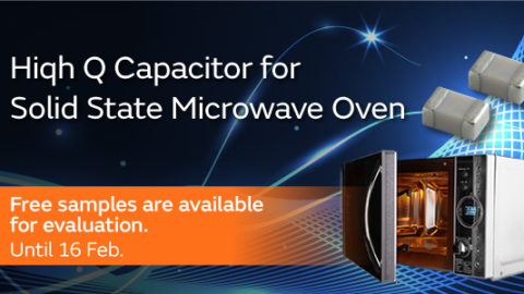 High Q Capacitor for Solid State Microwave Oven