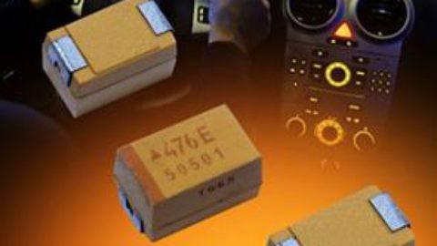 AVX Adds New Case Size & Codes to its Automotive-Grade TRM Professional Series Ultralow-ESR Tantalum Capacitors