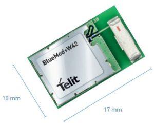 Telit BlueMod+W42 – Embedded Bluetooth & Wirepas Module |