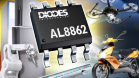 Diodes – AL8862 – 60V Buck LED Driver with Dimming Functions