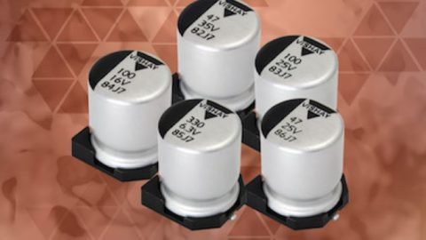 New Conductive and Hybrid Conductive Aluminum Polymer Capacitors Save PCB Space and Lower Costs