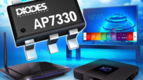 Diodes – AP7330 – 300mA High PSRR Low Noise LDO with Enable