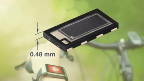 New VEMD8080 High Speed PIN Photodiode Offers Enhanced Sensitivity for Visible Light, Enables Slim Sensor Designs for wearables