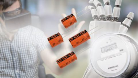 New 225 EDLC-R ENYCAP™ Series of Ruggedized Energy Storage Capacitors Offers Long Life and High Moisture Resistance