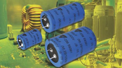 New 259 PHM-SI Series Snap-in Power Aluminum Capacitors Save Space, Lower Costs for Power Supplies, Solar Inverters, and Motor Controls
