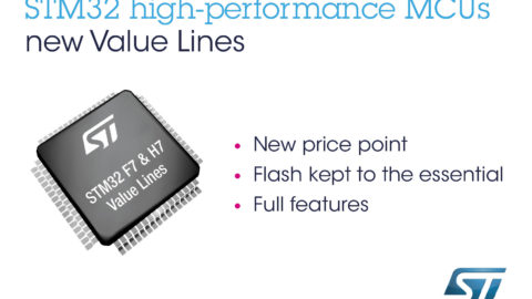 STM32F7x0 and H7x0 – New High- and Very-High-Performance STM32 Value Lines from STMicroelectronics