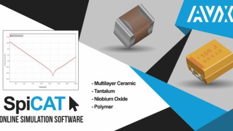 AVX Releases A New Interactive Online Simulation Tool for Tantalum, Polymer, Niobium Oxide, & Multilayer Ceramic Capacitors