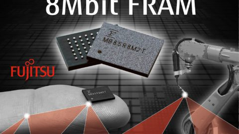 Fujitsu – now offering High Density 8Mbit FRAM