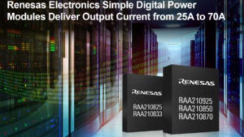 Renesas – Simple Digital Power Modules RAA210xx